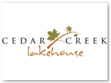 Cedar Creek Lakehouse Logo